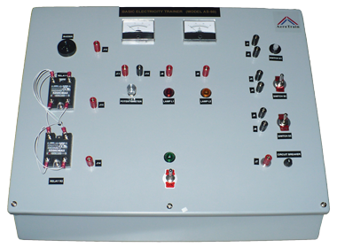 Basic Electrical Trainer Model AS-50 @ AeroTrain Corp